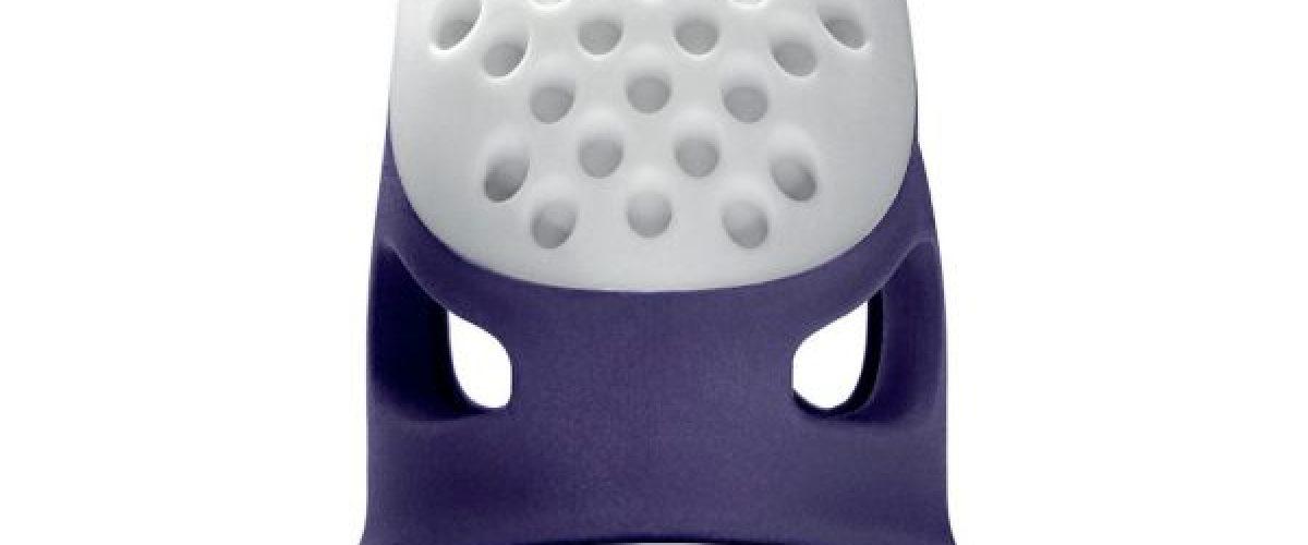 Imagen en detalle del dedal que está revolucionado el mundo. El dedal ergonómico de Prym